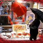 Escaparte San Valentin Aratz enmarcacion cuadros