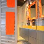 Espejo enmarcado Enmarcacion espejos Naranja Deinde Aratz Enmarcaciones Vitoria