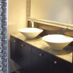 Espejo enmarcado Enmarcacion espejos deinde plata baño Aratz Enmarcaciones Vitoria