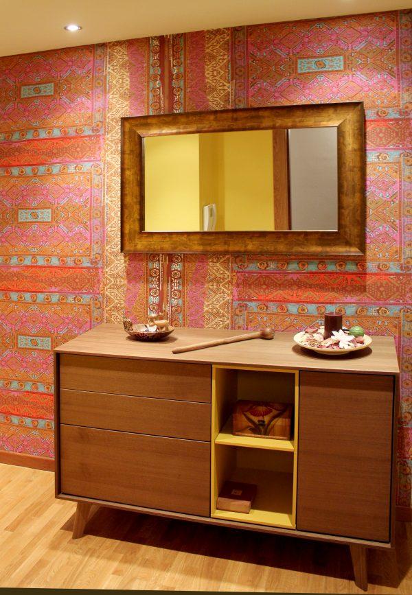 antes y despues espejo entrada enmarcacion de espejos espejos a encima de mueble despues