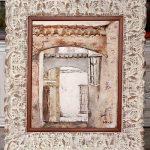oleo enmarcado marco plata aratz enmarcaciones cuadros enmarcados